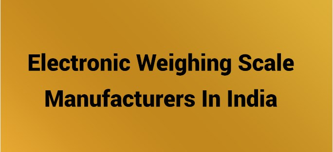 At last, you must have all the details regarding the electronic weighing scale business plan and electronic weighing scale manufacturers in India
